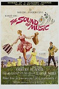 Guitar Case Framed Prints - The Sound Of Music, Poster Art, Julie Framed Print by Everett