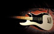 The Sound Palette Of Bass Art  Print by Steven  Digman