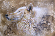 Arctic Painting Framed Prints - The Source VI Framed Print by Sandi Baker