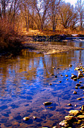 Flood Prints - The South Platte River II Print by David Patterson