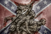 Confederate Flag Digital Art Prints - The South Will Rise Again Print by Randy Steele