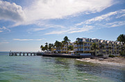 Southernmost Digital Art Prints - The Southernmost on the Beach - Key West Print by Bill Cannon