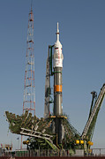 Kazakhstan Photos - The Soyuz Rocket Shortly After Arrival by Stocktrek Images