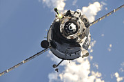 Outer Space Metal Prints - The Soyuz Tma-20 Spacecraft Metal Print by Stocktrek Images