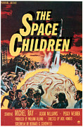 1950s Poster Art Framed Prints - The Space Children, 1958 Framed Print by Everett