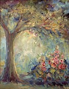 Tree Blossoms Paintings - The Sparkle of Light by Mary Wolf