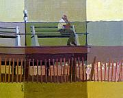 Boardwalk Paintings - The Spectator by Donald Maier