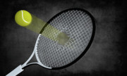 Tennis Racket Digital Art - The speed ball by Giordano Aita