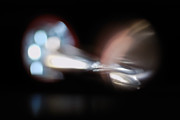 Light Bending Prints - The Speed of Light Print by Susan Capuano