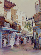 Arabian Paintings - The Spice Souq by Dorothy Boyer