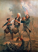 Minuteman Art - The Spirit Of 76 by Granger