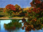 Long Island New York Prints - The Spirit of Autumn Print by Jeff Breiman