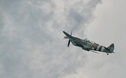 World War 2 Aviation Prints - The Spitfire Print by Lee-Anne Rafferty-Evans