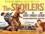1955 Movies Art - The Spoilers, Rory Calhoun, Jeff by Everett