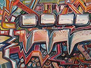 Graffiti Art Painting Originals - The Sports Fan by Steven Holder