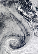 Polar Climate Prints - The Sprawling S-shaped Swirl Print by Stocktrek Images
