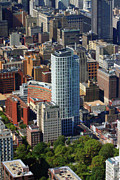Aerial Photo Of Philadelphia Posters - The St. James 200 W Washington Sq Philadelphia PA 19106 3513 Poster by Duncan Pearson