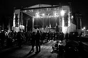 Music Metal Prints - The Stage Metal Print by David Lee Thompson