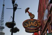 Country Music Town Prints - The Stage Nashville Print by Susanne Van Hulst