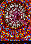 The Stained Glass Ceiling Print by Judi Bagwell
