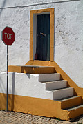 Traffic Sign Photos - The Stairway to the Top by Dias Dos Reis