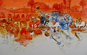 Montage Mixed Media - The Stanford Legacy  1 by Cliff Spohn