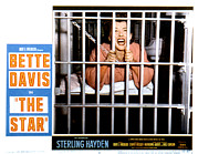 1952 Movies Framed Prints - The Star, Bette Davis, 1952 Framed Print by Everett