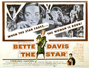 Sterling Hayden Art - The Star, Bette Davis, Sterling Hayden by Everett