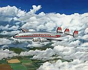 Lockheed Aircraft Paintings - The Star of the China Sea by James Robertson