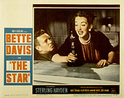 1952 Movies Framed Prints - The Star, Sterling Hayden, Bette Davis Framed Print by Everett