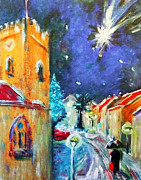 The Church Mixed Media Originals - The Star by Zbigniew Rusin
