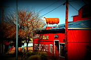 Route66 Prints - The Steakhouse on Route 66 Print by Susanne Van Hulst