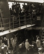 Great Migration Acrylic Prints - The Steerage, 1907, Immigrants Acrylic Print by Everett
