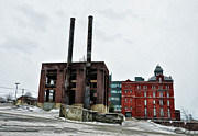 Poconos Art - The Stegmaier Brewery - Wilkes Barre by Bill Cannon