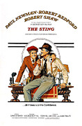 Period Clothing Photo Prints - The Sting, The, Robert Redford, Paul Print by Everett