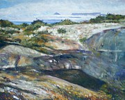 Enver Larney - The stone quarry at...