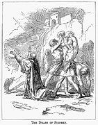 Martyr Prints - The Stoning Of St. Stephen Print by Granger