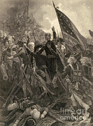 Chappel Posters - The Storming Of Stony Point, 1779 Poster by Photo Researchers