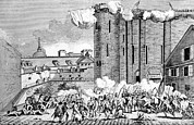 French Revolution Prints - The Storming Of The Bastille, 1789 Print by Everett