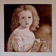Book Pyrography Framed Prints - The Story Framed Print by Jo Schwartz