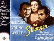 Loretta Posters - The Stranger, Orson Welles, Loretta Poster by Everett