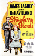 Period Clothing Posters - The Strawberry Blonde, James Cagney Poster by Everett