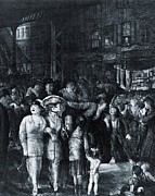 The Eight Prints - The Streeet, 1917, A Lithograph Print by Everett