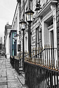 Selective Colouring Prints - The Street Print by Chris Cardwell