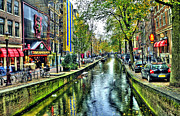 Amsterdam Photos - The Street by Svetlana Sewell