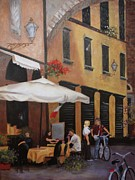 Lucca Framed Prints - The Streets of Lucca Framed Print by Barbara Sutton