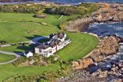 Aerial Photo - The Studio Newport Rhode Island by Duncan Pearson
