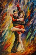 Dance Posters - The Sublime Tango  Poster by Leonid Afremov