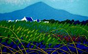 Impressionism Acrylic Prints Art - The Sugar Loaf County Wicklow Ireland by John  Nolan