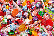 Chewy Candy Posters - The Sugar Rush 2 Poster by Andee Photography